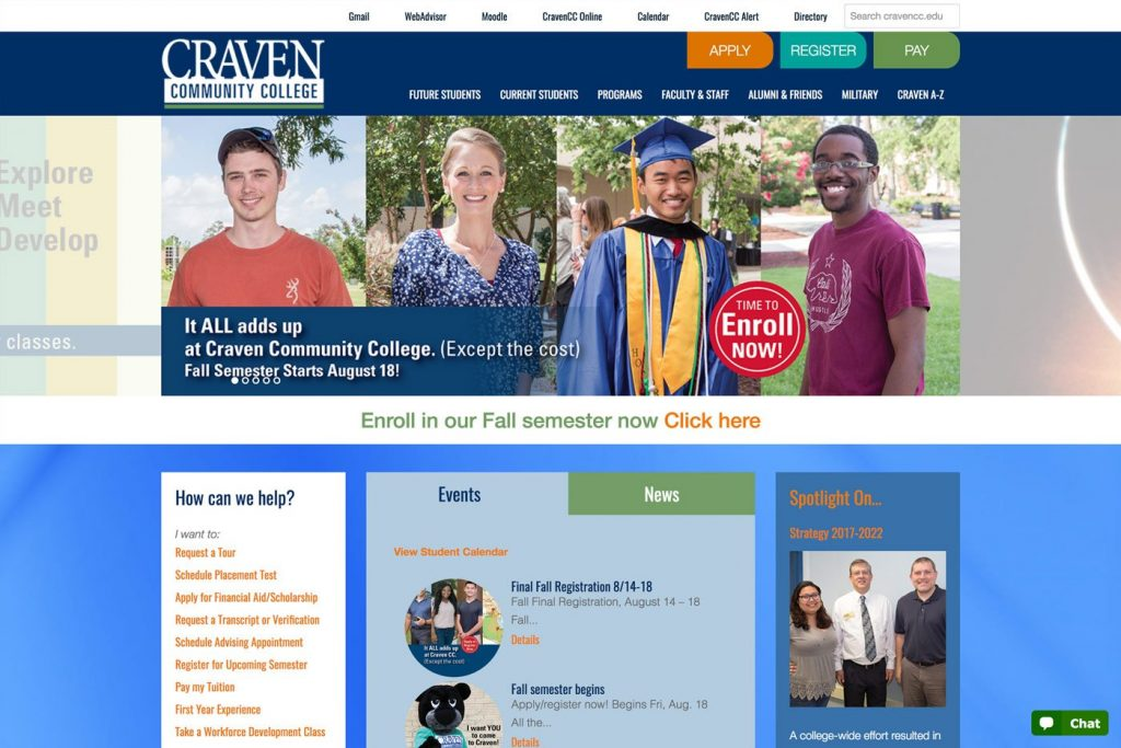 Craven - Desktop Responsive Design