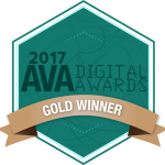 2017 AVA Digital Awards Gold Winner Award