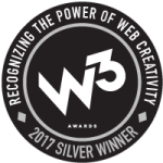 W3 2017 Silver Winner Award