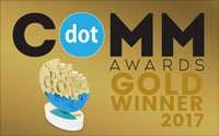 2017 dot Comm Awards Gold Winner Award