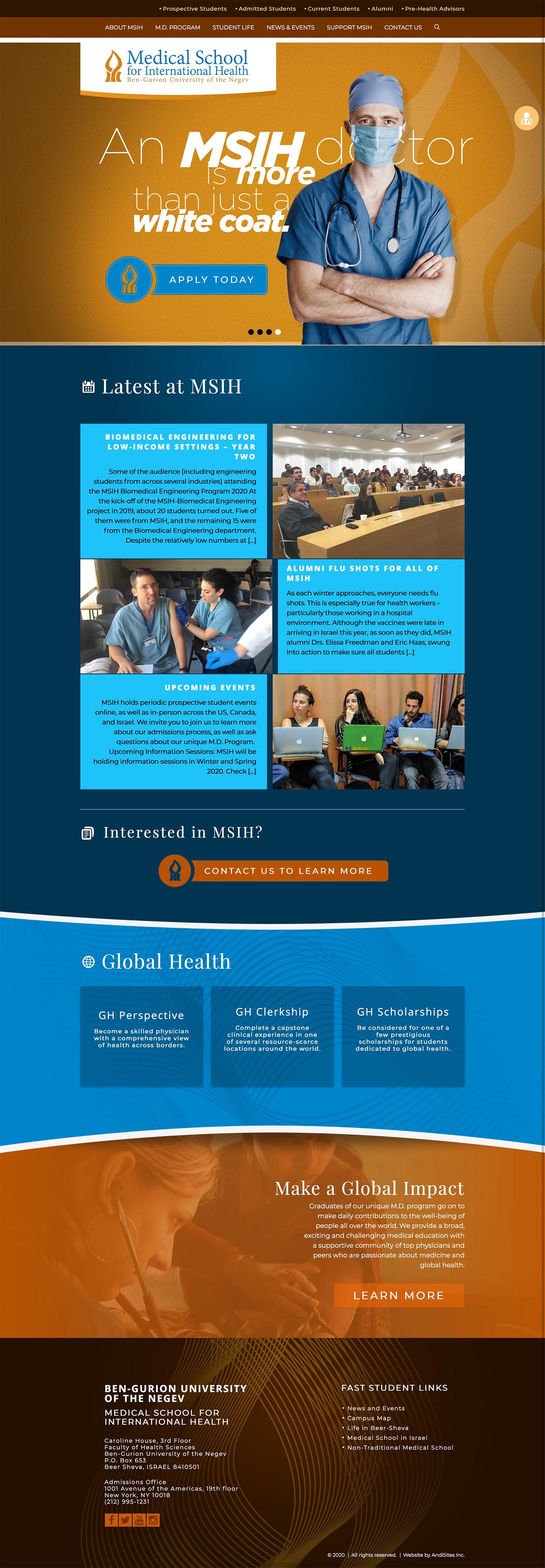Medical School for International Health