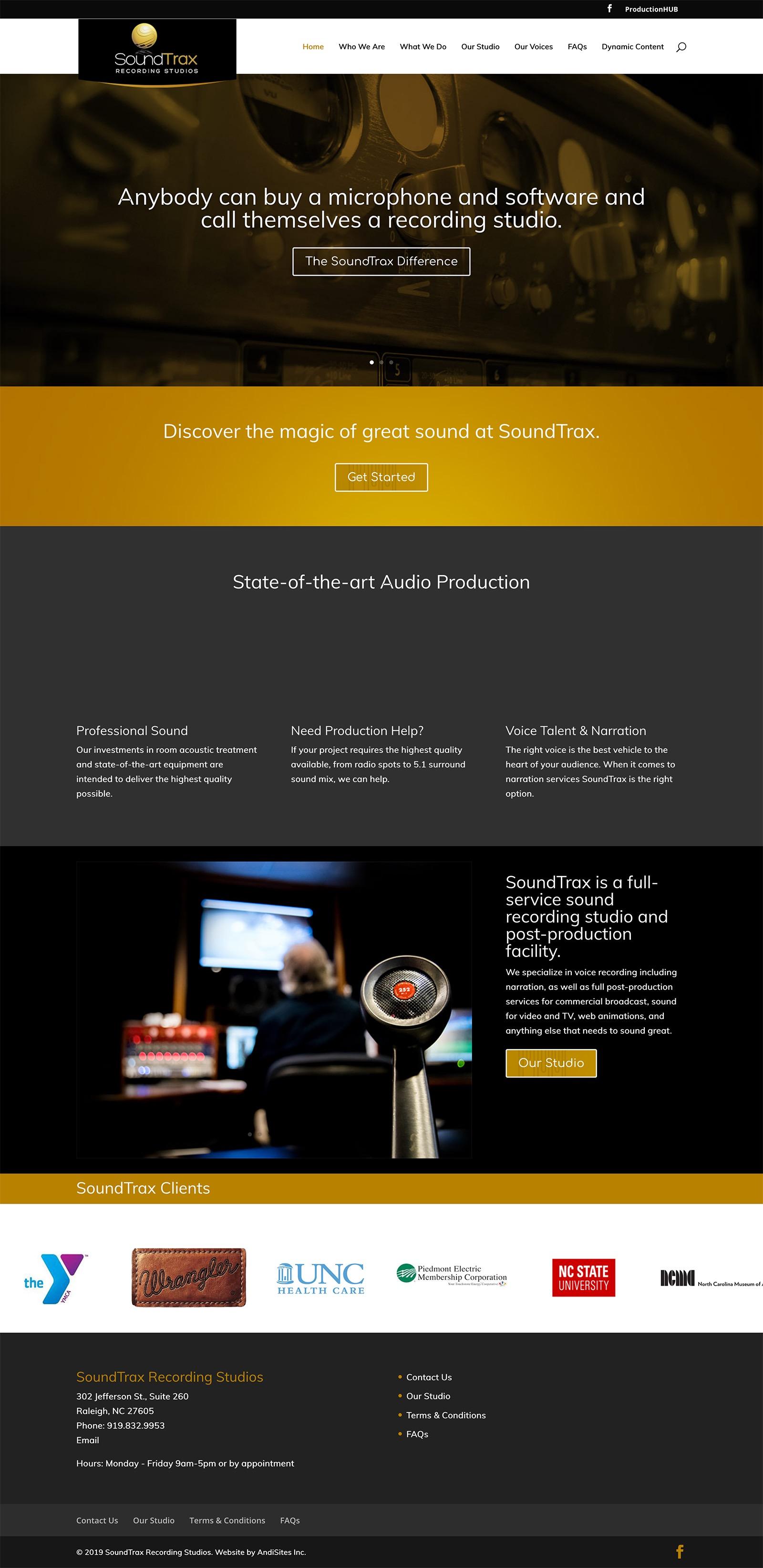 SoundTrax Recording Studios